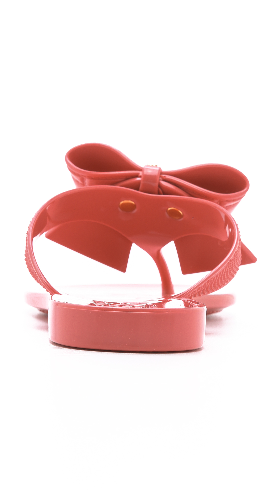 471c410f6fd Salvatore Ferragamo Bali Jelly Thong Sandals with Quilted Bow