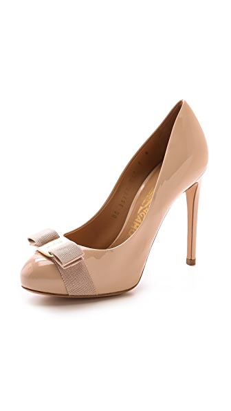 Salvatore Ferragamo Rilly Platform Pumps