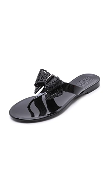 Salvatore Ferragamo Pandy Jelly Thong Sandal