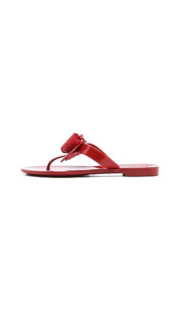 Salvatore Ferragamo Pandy Jelly Thong Sandals