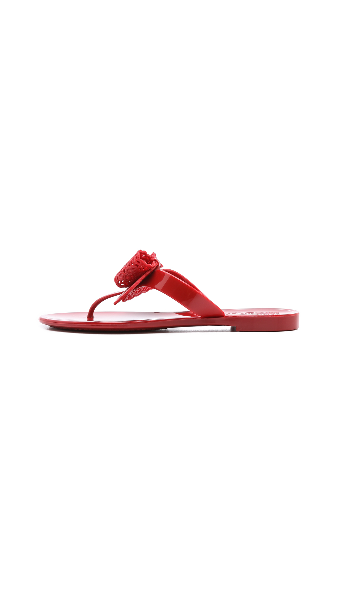 95fde7cf3be5 Salvatore Ferragamo Pandy Jelly Thong Sandals