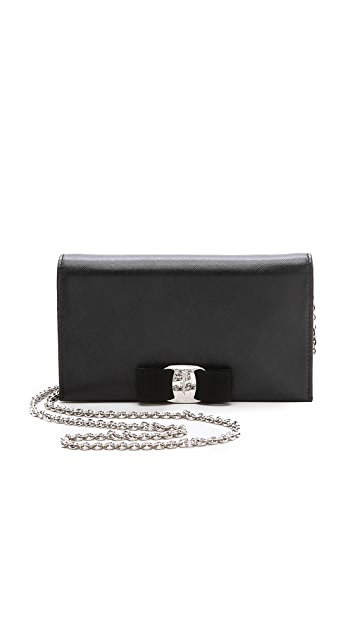 Salvatore Ferragamo Vara Bow Wallet / Purse