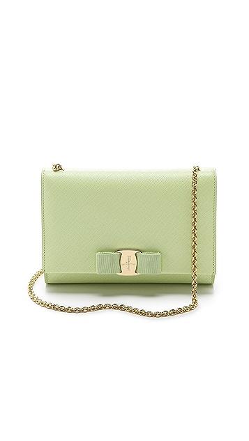 Salvatore Ferragamo Miss Vara Bow Shoulder Bag