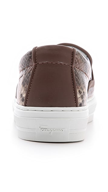 Salvatore Ferragamo Pacau Slip On Sneakers