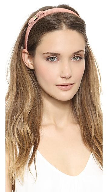Salvatore Ferragamo Vara Bow Thin Headband