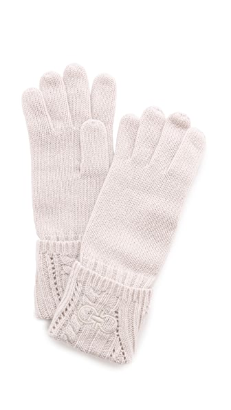Salvatore Ferragamo Knit Gloves