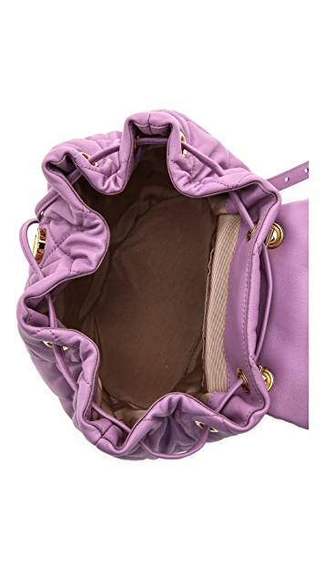 Salvatore Ferragamo Giuliette Quilted Backpack