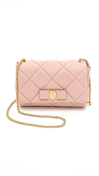 Salvatore Ferragamo Miss Vara Quilted Mini Bag