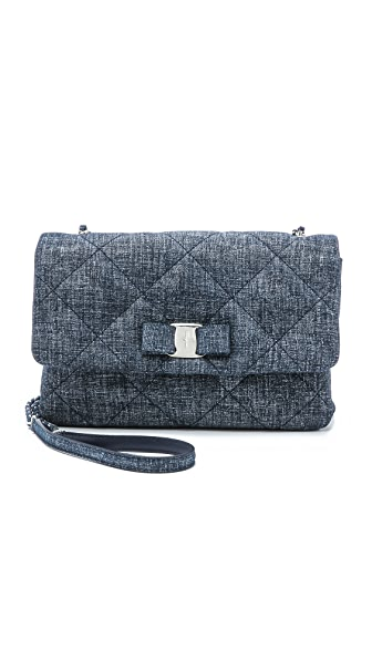 Salvatore Ferragamo Gelly Quilted Shoulder Bag