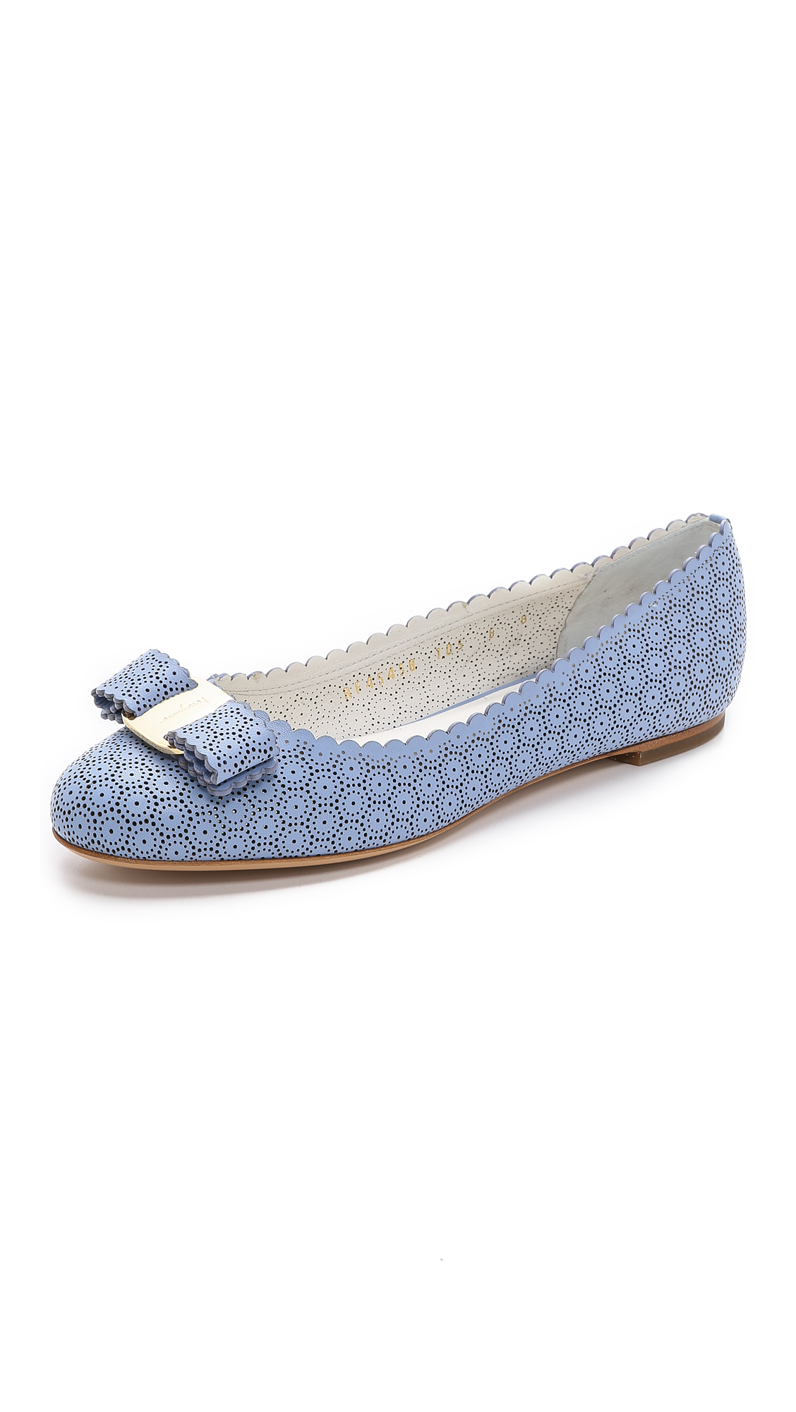 Salvatore Ferragamo woven Varina ballerina shoes with credit card for nice online GBzRd4yr