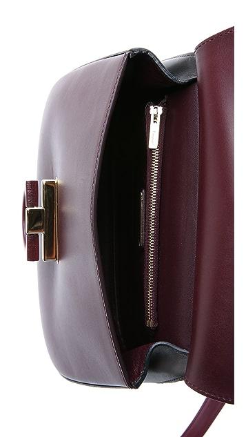 Salvatore Ferragamo Hermada Small Shoulder Bag