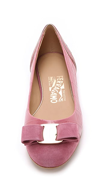 Salvatore Ferragamo Varina Luxury Ballet Flats