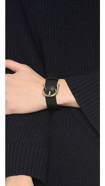 Salvatore Ferragamo Gancio Buckle Bracelet