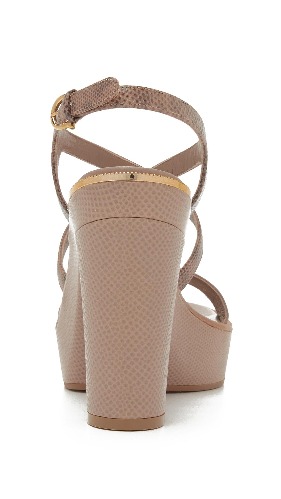 b0b4f76340e6 Salvatore Ferragamo Gina Platform Sandals