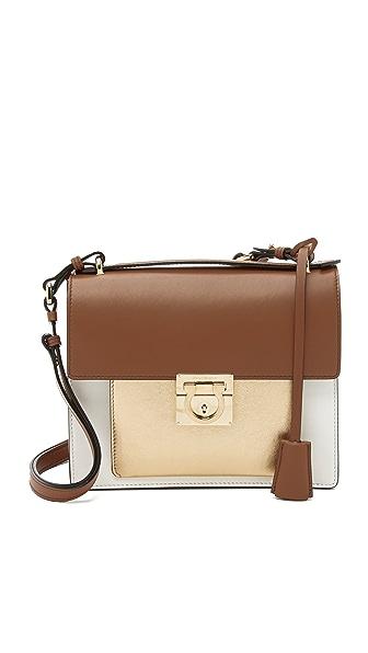 Salvatore Ferragamo Small Marisol Shoulder Bag