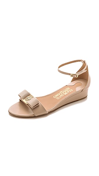 Salvatore Ferragamo Margot Wedge Sandals
