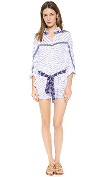 FAITHFULL THE BRAND Joyful Playsuit