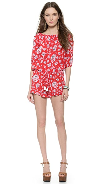 FAITHFULL THE BRAND Cabana Romper