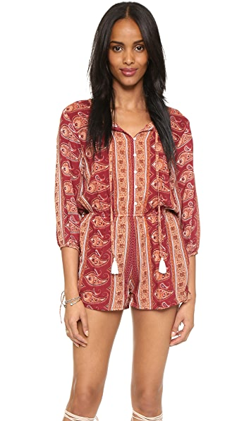 FAITHFULL THE BRAND Woodstock Romper