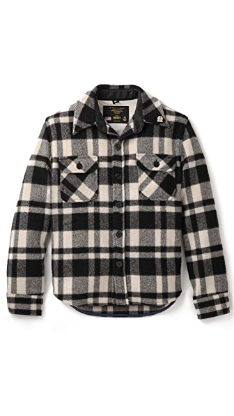 Gerald & Stewart by Fidelity Plaid CPO Jacket