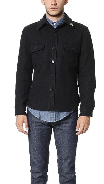 Gerald stewart by fidelity cpo jacket east dane for Fidelity cpo shirt jacket