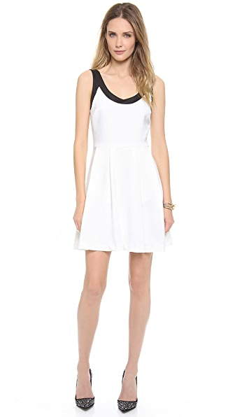 5th & Mercer Crepe Dress