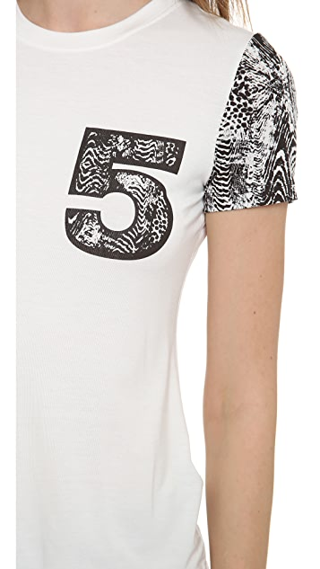 5th & Mercer Number 5 T-Shirt