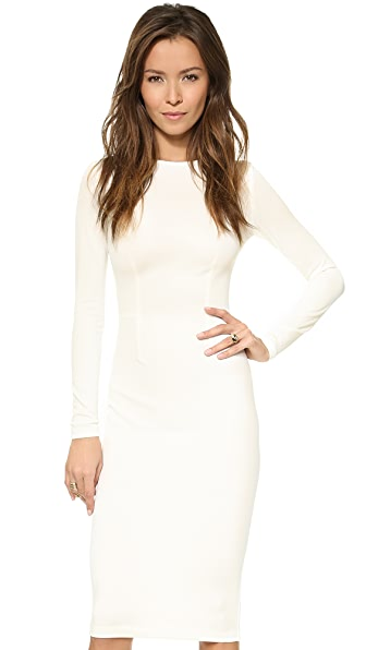 5th & Mercer Long Sleeve Dress