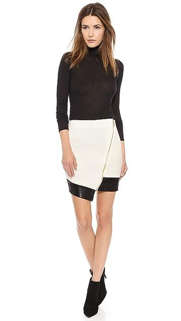 5th & Mercer Asymmetrical Skirt