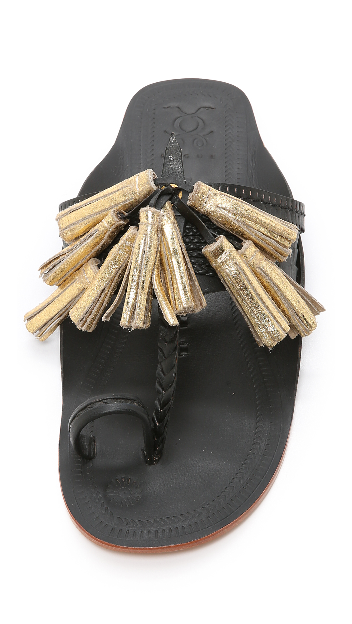 FIGUE Fringed sandals TpAWfd