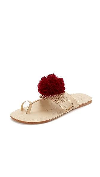 Figue Pom Pom Sandals