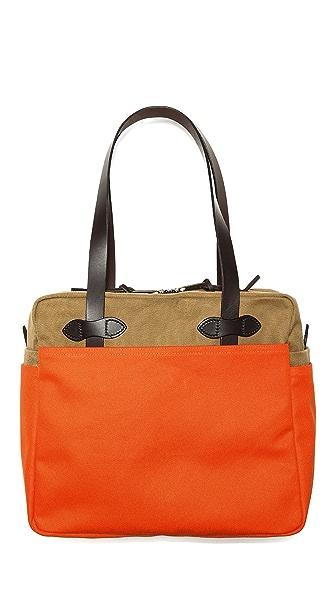 Filson Twill Zip Tote Bag