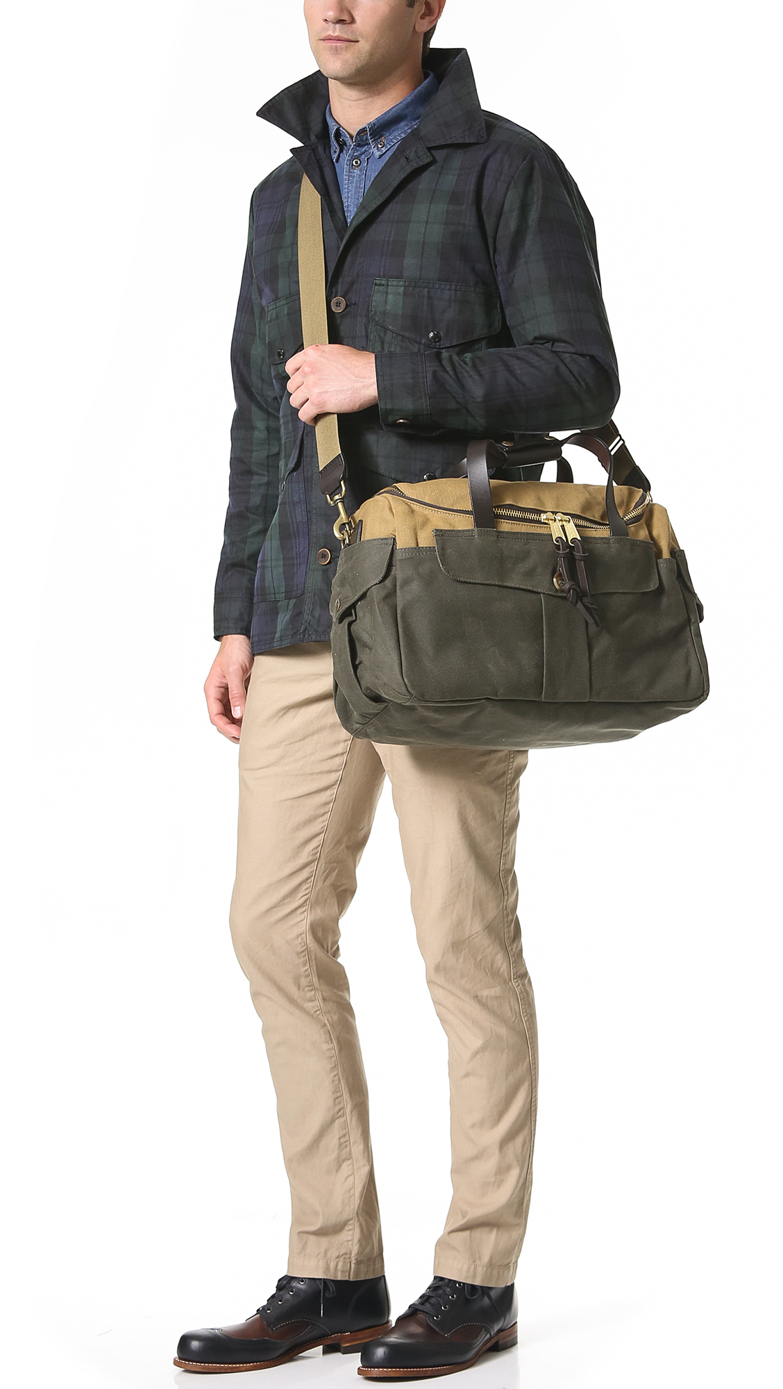 FILSON MCCURRY  Filson Original Sportsman Bag EAST DANE online retailer  9955d abb91 ... 2859ec8f56