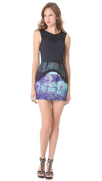 findersKEEPERS Lost for Words Peplum Dress