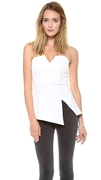 findersKEEPERS Jump then Fall Peplum Bustier