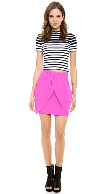findersKEEPERS Paper Ships Skirt