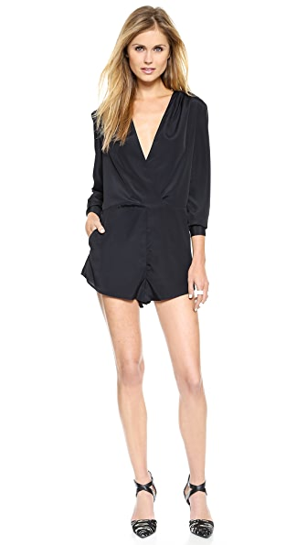 findersKEEPERS Game Plan Long Sleeve Romper