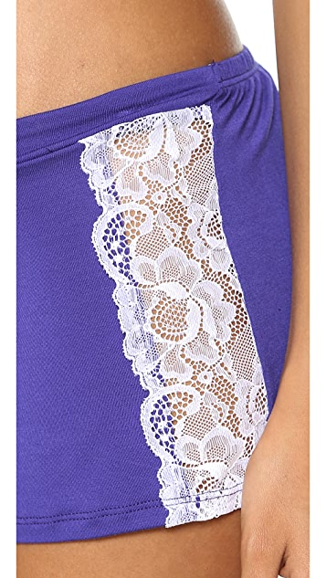 Fleur't Falling in Love Lacey Shorts