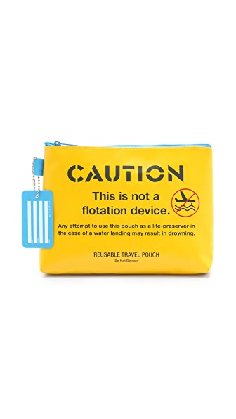 Flight 001 Caution Pouch