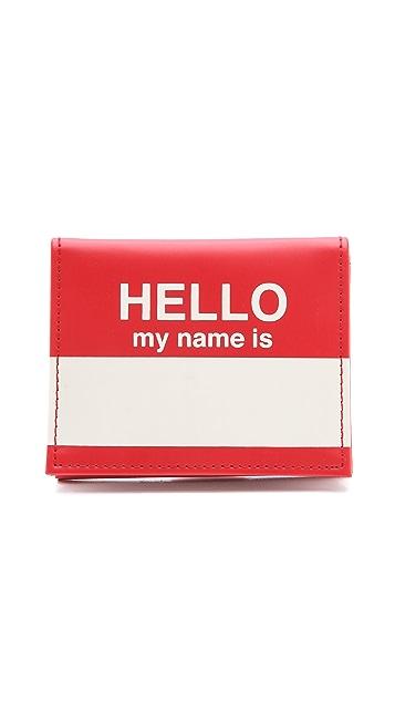 Flight 001 Hello Card Case