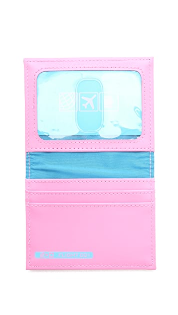 Flight 001 Ni Hao Card Case