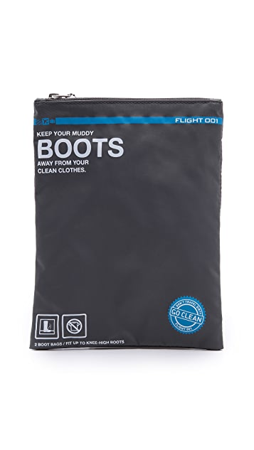Flight 001 Go Clean Boots Bag