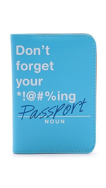 Flight 001 Don't Forget Passport Case