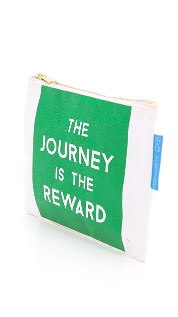 Flight 001 Journey Is the Reward Pouch