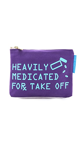 Funny - heavily medicated for take off pouch