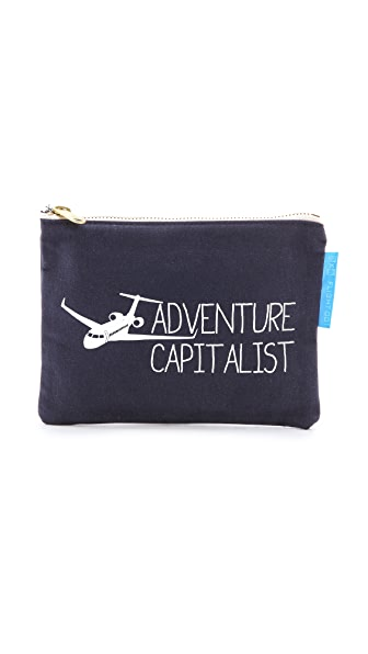 Flight 001 Adventure Capitalist Pouch