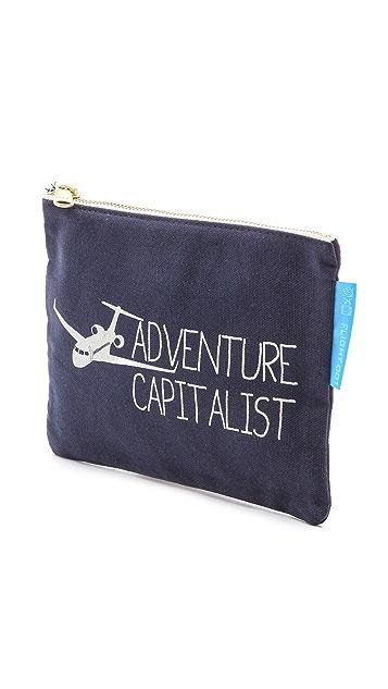 Flight 001 Adventure Capitalist Pouch