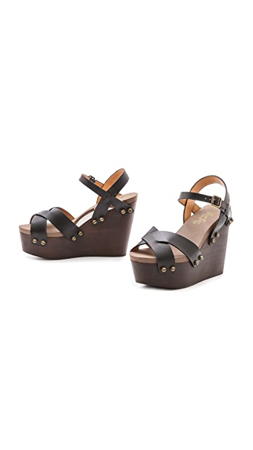 Flogg Liliana Wedge Sandals