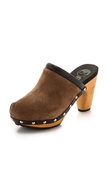 Flogg Franny Suede Mules