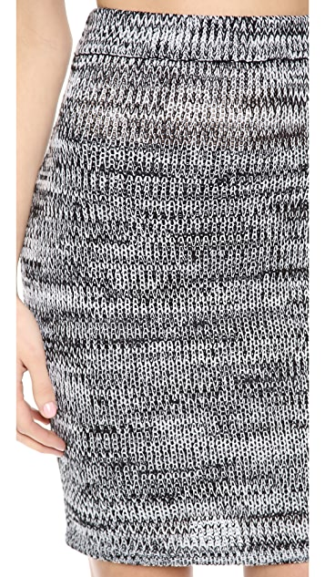 For Love & Lemons Sporty Knit Skirt
